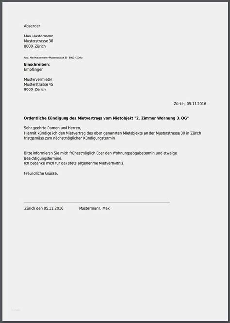 Mietvertrag Muster Wohnung 4827 by K 252 Ndigungsschreiben Wohnung Vorlage Gut K 252 Ndigung