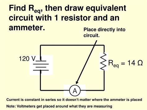 resistor equivalent circuit ppt aim how can we explain a series circuit powerpoint presentation id 5574443