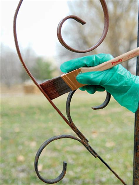 Painting Iron And Steel Furniture And Ornaments How To