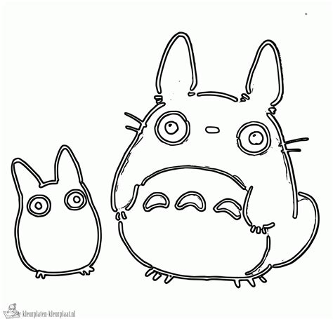 May Totoro Coloring Pages Totoro Coloring Pages