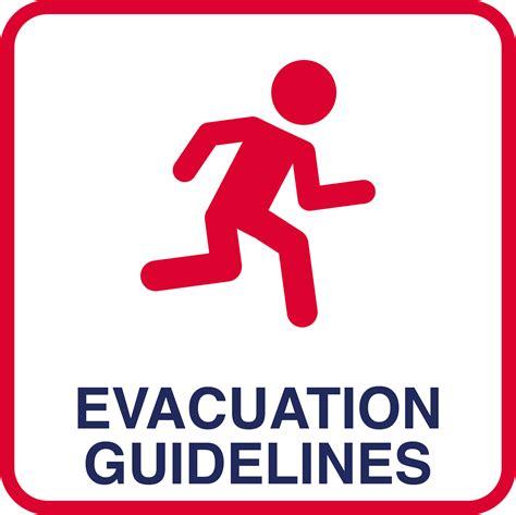 Emergency Evacuation Floor Plan Template by Evacuation Procedures Uicready