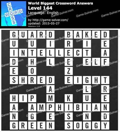 usa today crossword doesn t work worlds biggest crossword level 144 game solver