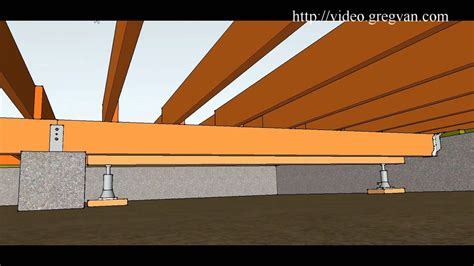 loading on ceiling joists conventional framed roof how to use beams and jacks to replace girder beam