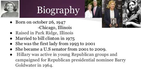 hillary clinton biography timeline hillary clinton period 4