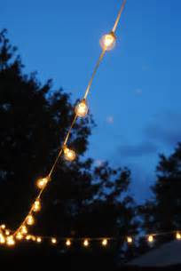 string lights outdoors how to hang outdoor string lights the deck diaries part