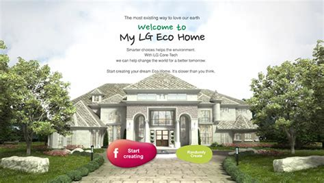 build your virtual dream house create your virtual dream home with the eco friendly lg