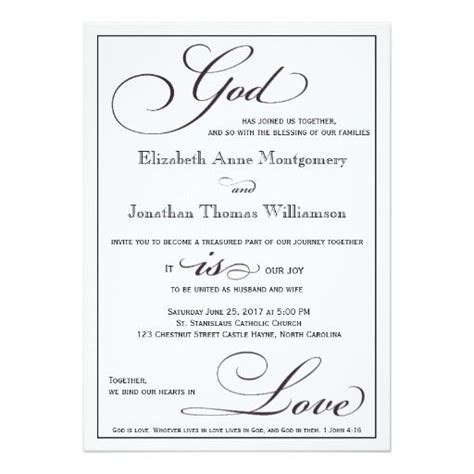 christian wedding invitation wording 260 best christian wedding invitations images on