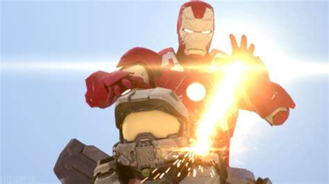 master chief iron man halo marvel animation fan