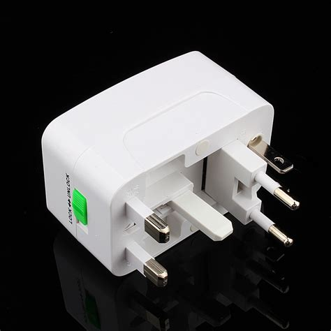 Travel Universal Socket All In One Colokan Serbaguna Adapter Adaptor universal travel adapter charger sockets all in one travel ac power socket adapter