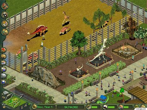 design a zoo game zoo tycoon dinosaur digs screenshots pictures