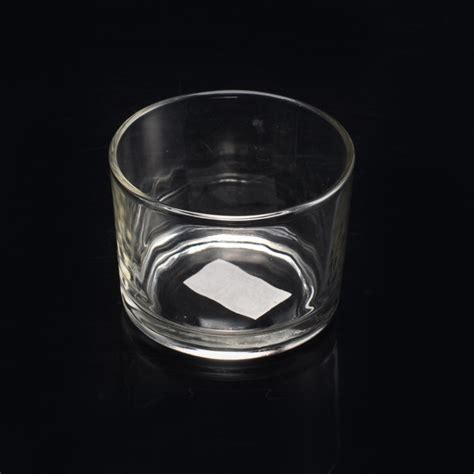 Small Glass Candle Holders Clear Glass Candle Container Glass Candle Jar Calving