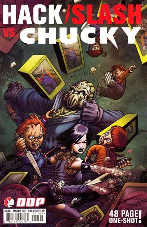 hack slash comic hack slash vs chucky 1 issue