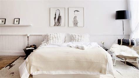 Agréable Decoration Tete De Lit #7: Chambre-simple-epuree-scandinave-art.jpg