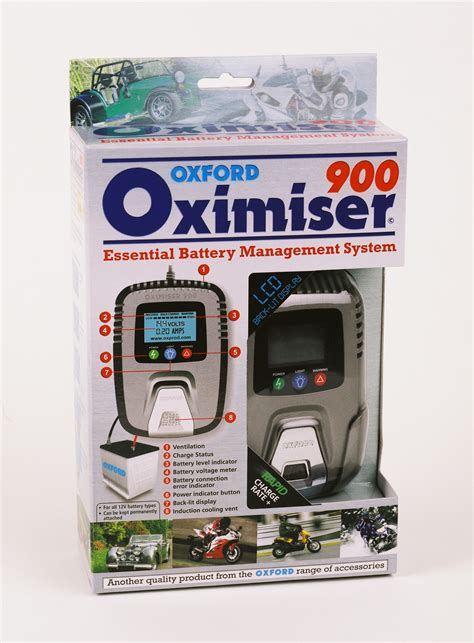 oxford chargers oxford oximiser 900 battery charger