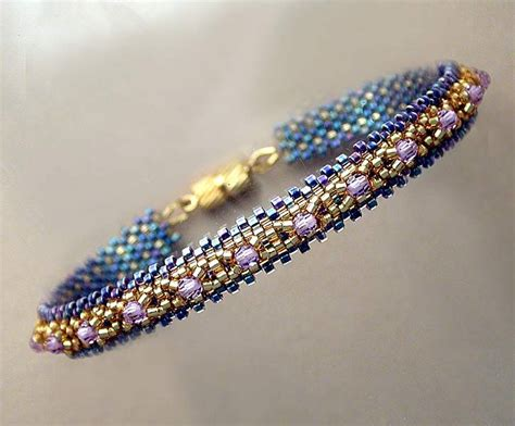 peyote beaded bracelets peyote beadwork bracelets beaded bracelets