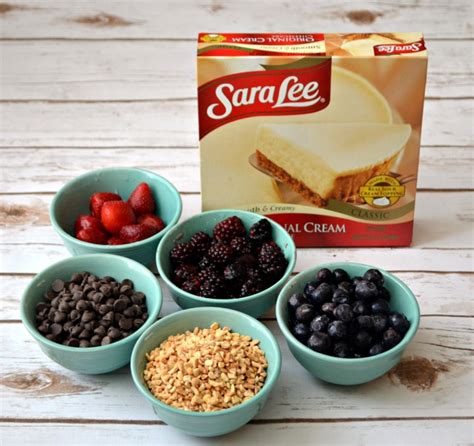 cheesecake toppings bar cheesecake toppings bar with sara lee desserts amy latta