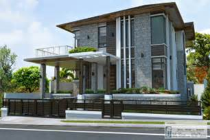 A Contemporary Home Design by Contemporary Two Storey Home Design Design Architecture