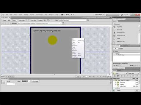 youtube tutorial dreamweaver 8 how to make a website in dreamweaver amazing tutorial
