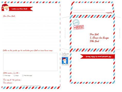 Modèle Lettre Père Noel Imprimer Printable Lettres Au P 232 Re No 235 L