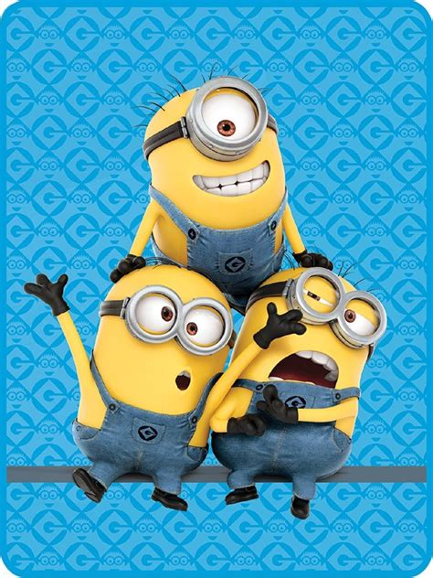 Despicable Me Minion Blanket by 15 Coolest Minions Products To Buy