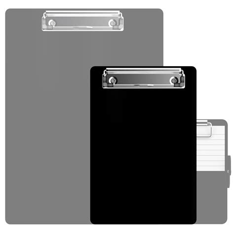 Name Tag Id Acrylic Model Vertical Transaparant Limited small size clipboards