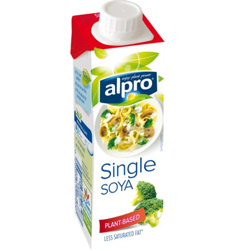 soja cuisine plant based alternative small soya single alpro