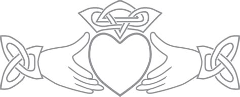 claddagh symbol pre cut patterns
