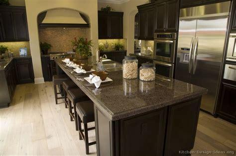 traditional espresso kitchen cabinets kitchen craft pictures of kitchens traditional dark espresso kitchen