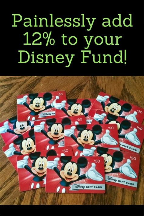 painlessly add 12 to your disney fund