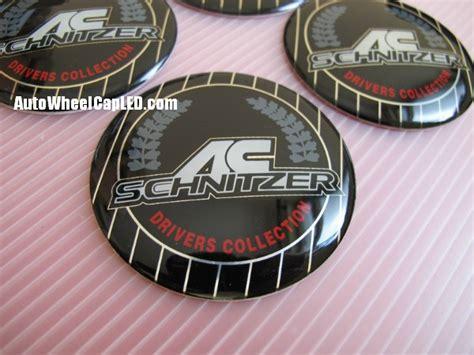 Emblem Ac Schnitzer Alumunium Gel bmw ac schnitzer wheel center caps emblems stickers 65mm
