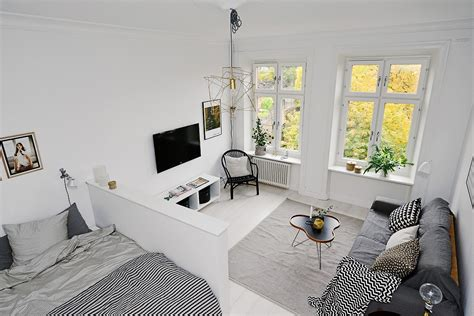 scandinavian apartment scandinavian apartment makes clever use of small space