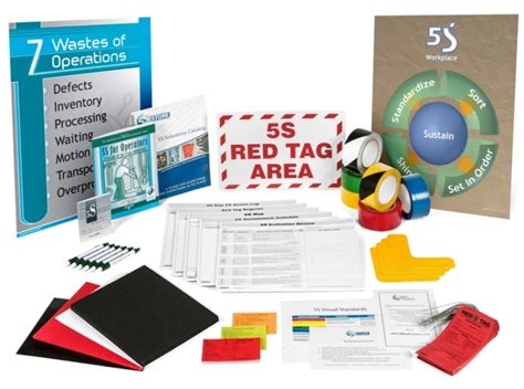 5s five challenges lean training dvd from gbmp dvdrip membership posters pens kits n more