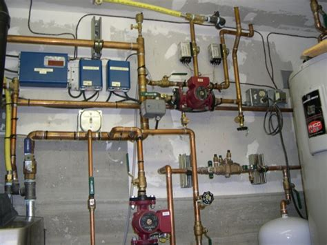 Hydronic Plumbing by Residential Boiler Piping Diagram Boiler