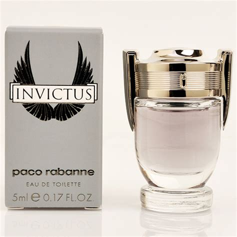 Parfum Invictus invictus paco rabanne edt perfume mens fragrance mini