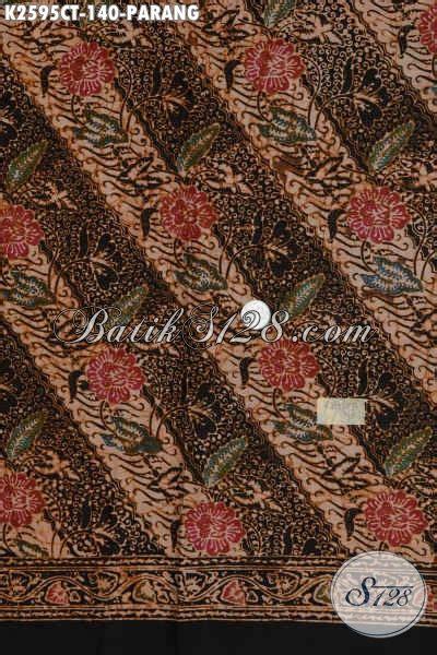 Kain Batik Kombinasi Motif Parang Bunga gambar batik parang makna filosofi dipakai alba sehun motif istimewa di rebanas rebanas