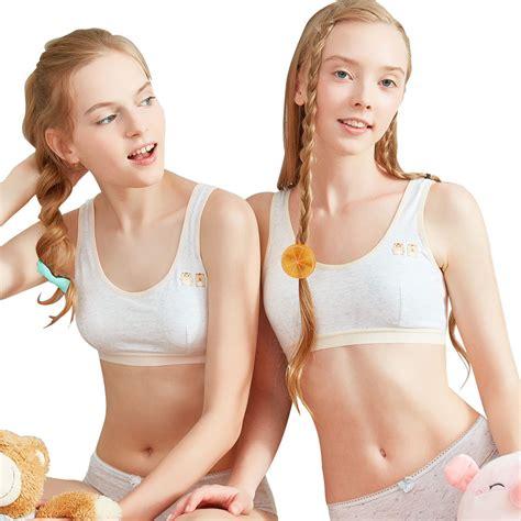 preteen ebay sanqiang 2 pack girls teen kid first bra children training
