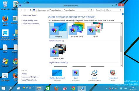 Install Desktop Theme For All Users In Windows 10 Windows | windows 7 default desktop background all users