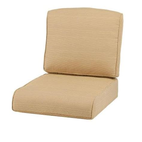 Martha Stewart Patio Furniture Replacement Cushions Martha Stewart Living Cedar Island Beige Replacement Outdoor Swivel Lounge Chair Cushion