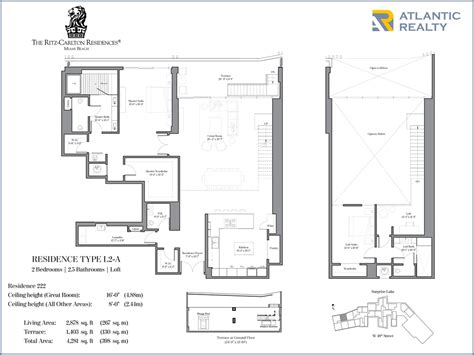 residences at the ritz carlton tucson floor plan ranch house model ritz carlton floor plans meze blog