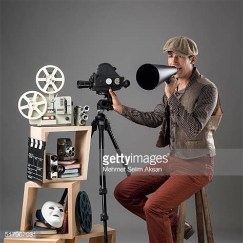Or Director Director In Period Costume Stock Photo Getty Images