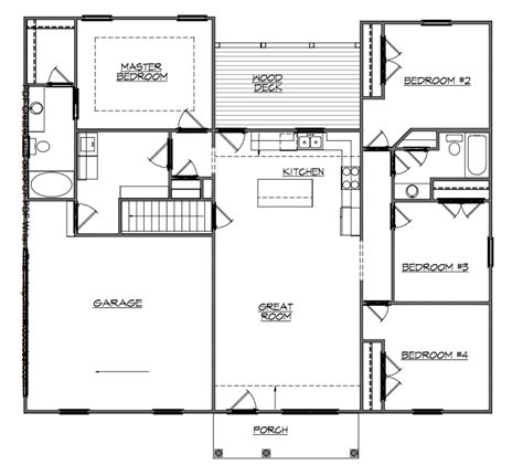 walkout bungalow floor plans walkout bungalow floor plans meze