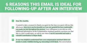 Thank You Letter After Not Qualified The Follow Up Letter Business Insider
