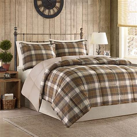 woolrich down comforter woolrich lumberjack down alternative comforter mini set