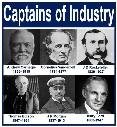 jp captain of industry or robber baron captain of industry definition and meaning market