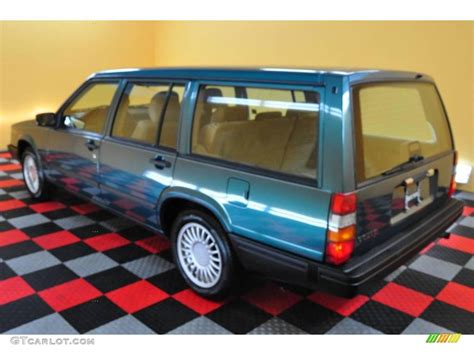 volvo 940 interior 1995 blue green metallic volvo 940 wagon 17839420 photo