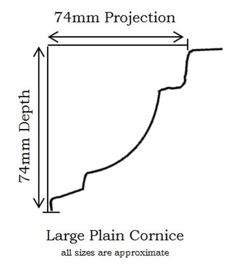 cornice dimensions large plain cornice pressed metal cornice