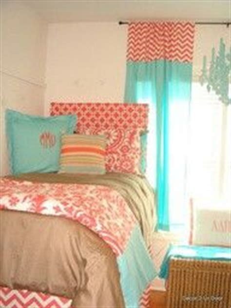 peach and aqua bedroom 1000 images about tarleton dorm ideas on pinterest