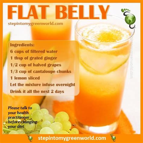 Stomach Detox Juice by A Delicious And Simple Flat Belly Water Recipe For All
