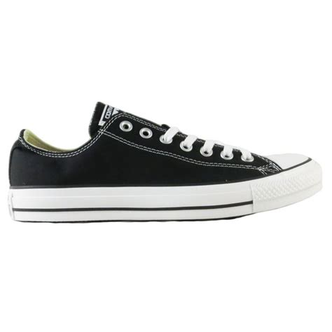 converse black sneakers converse all s sneakers ox black m9166c