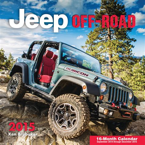 jeep calendar all things jeep jeep calendars 2015 calendars available
